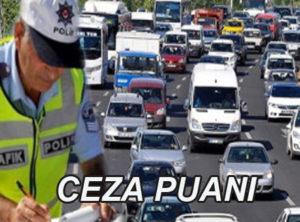Sürücü belgelerine uygulanan ceza puan uygulaması