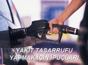 Araçlarda Yakıt Tasarrufu